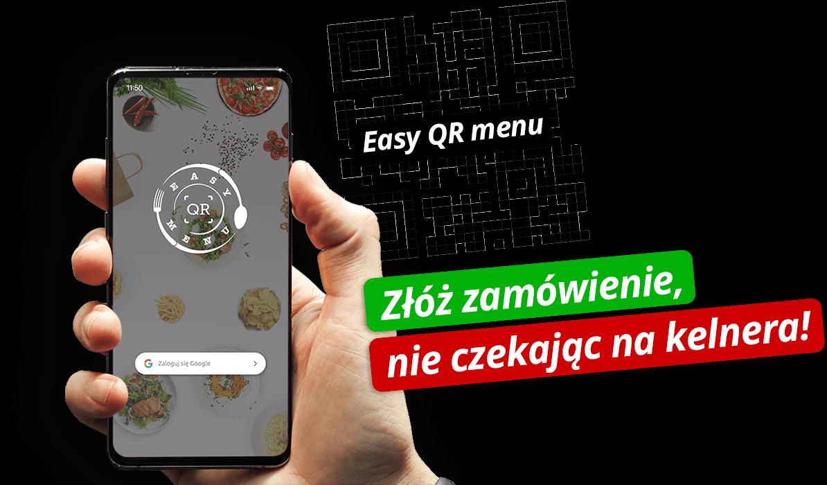 Aplikacja easy QR menu
